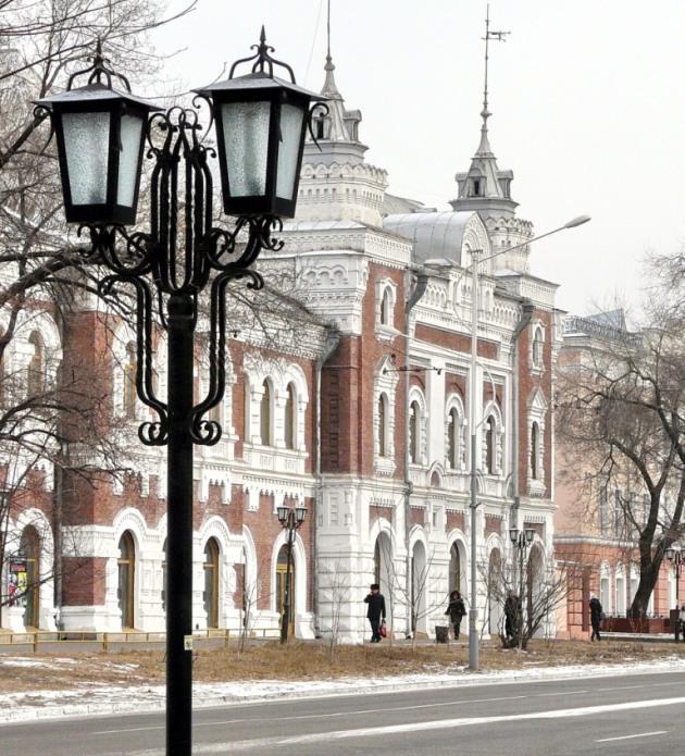 La belle Blagovechtchensk